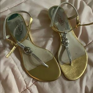 MK sandals!